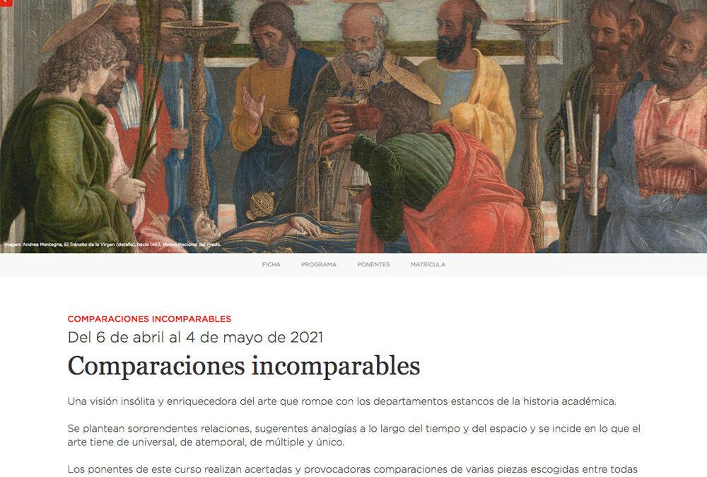 Conferencia «La mirada del corazón». Fundación Amigos del Museo del Prado